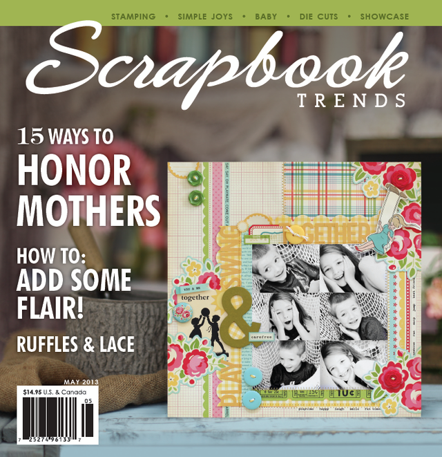 Scrapbook Trends | May 2013