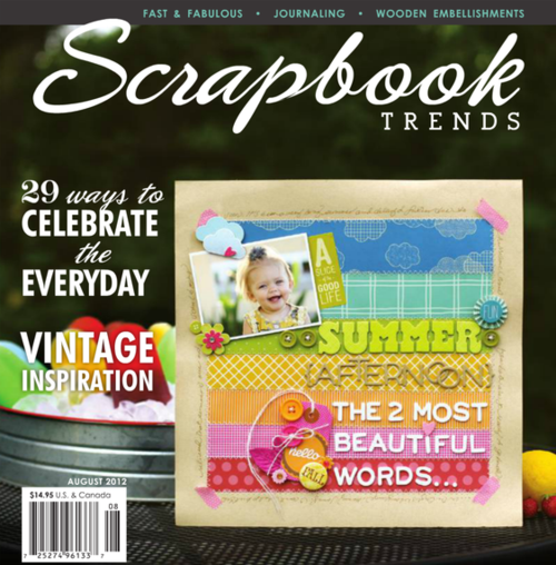 Scrapbook Trends | August 2012