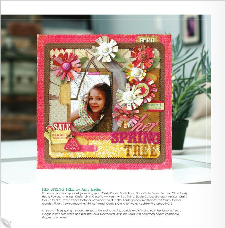 Scrapbook Trends Magazine | April 2011