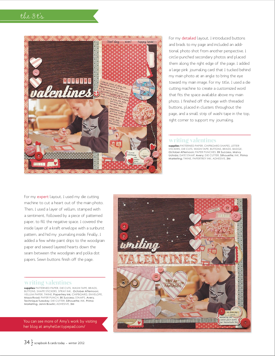 Scrapbook & Cards Today | Winter 2012