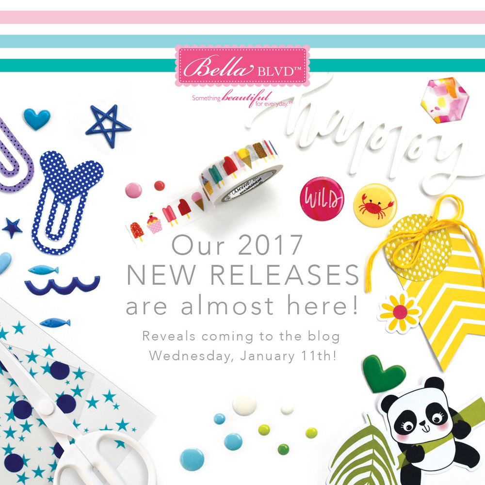Bella Blvd + Illustrated Faith New Releases Coming to the Bella Blvd blog on Wednesday!