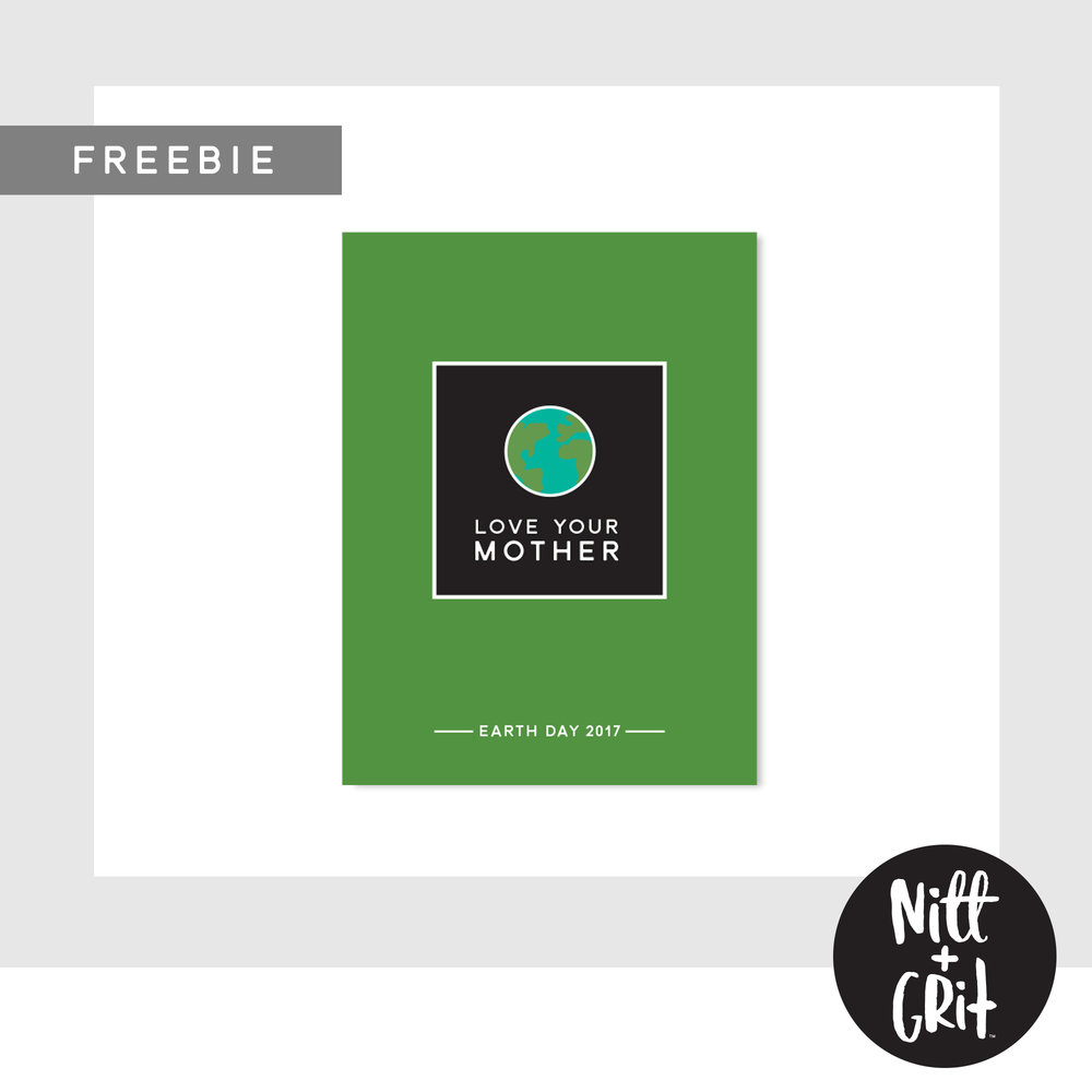 TRUST collection Earth Day Freebie