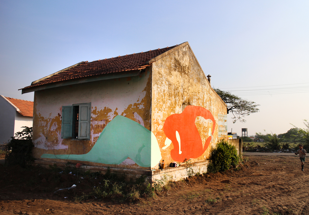 Chettipalayam, India, 2014  latex