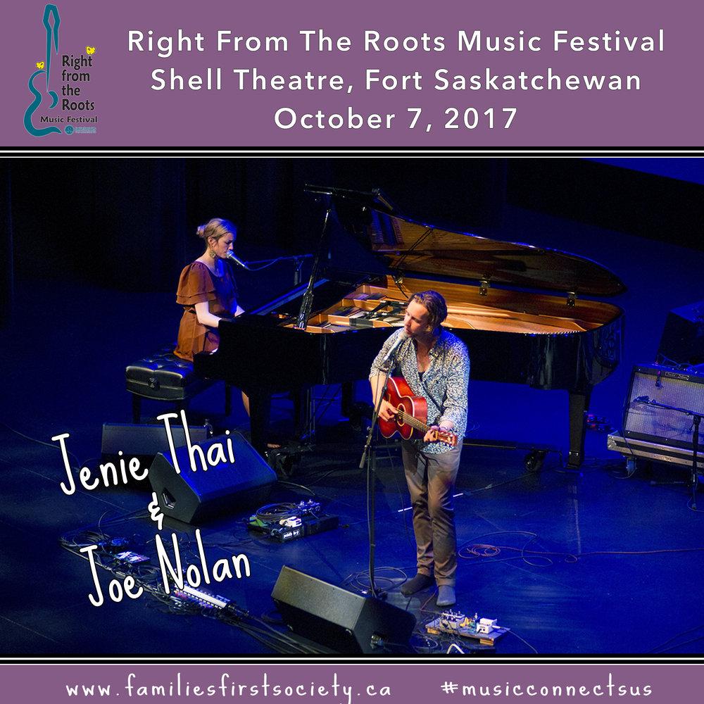Jenie Thai and Joe Nolan
