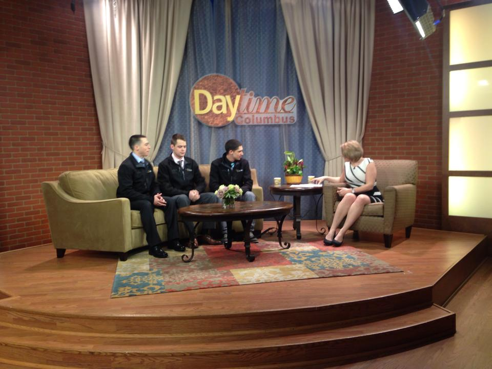 Sponsored Runners, Matt and Mike, share with NBC4's Daytime Columbus the reasons why they chose to support 1DK in such a direct way.