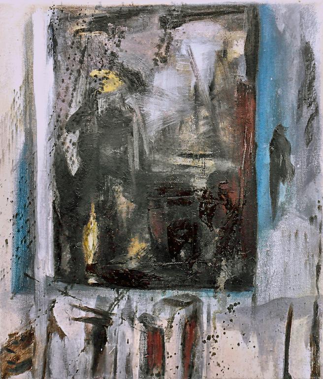 Rauschenberg In My Studio