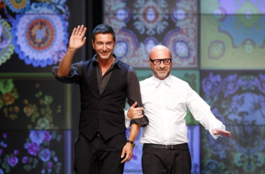 Dolce and Gabbana waving goodbye to sales of their 2015 summer collection...(Picture Stefano Rellandini / Reuters)