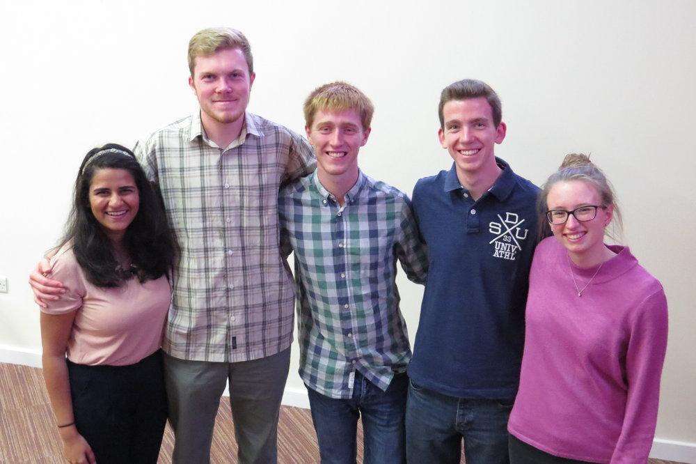 Hannah, Tom, Ashley, Micah and Chloe