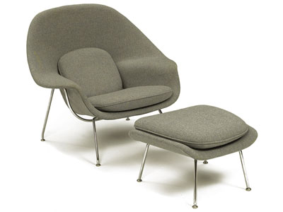 womb chair knoll loncin