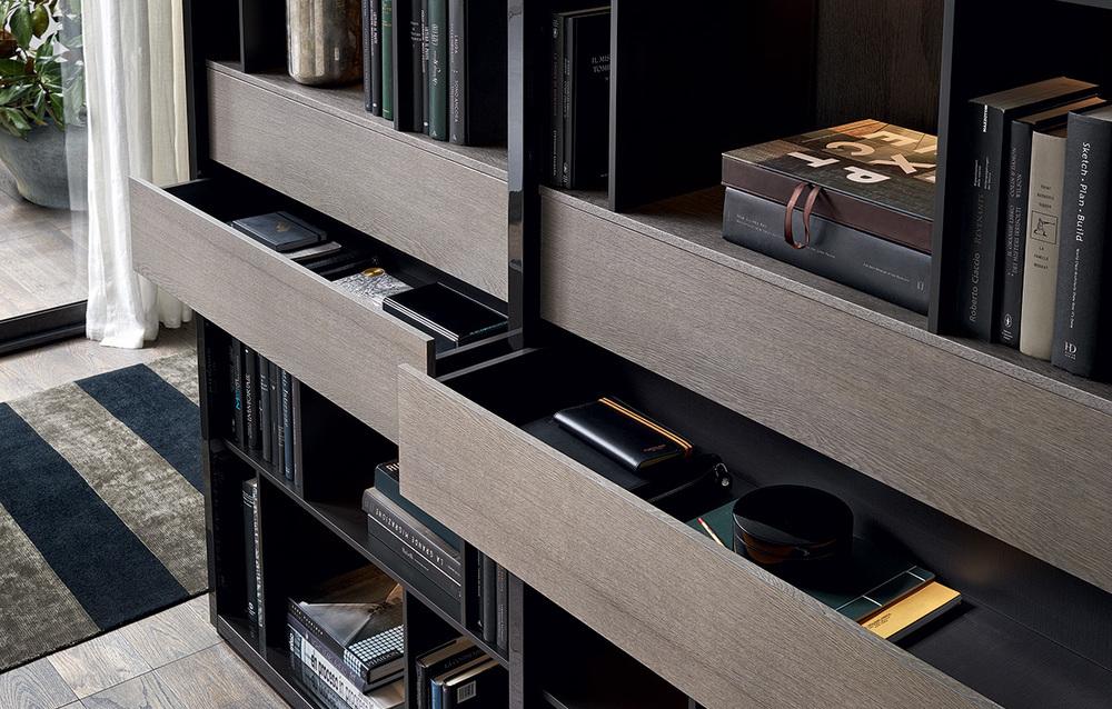 Poliform-Wall-System kasten op maat maatwerk vakwerk opmeten design meubelwinkel loncin interieur architecten living bibliotheek dressing slaapkamer kleerkasten leuven brussel bruxelles mechelen antwerpen limburg brabant gent knokke hasselt waterloo2.jpg