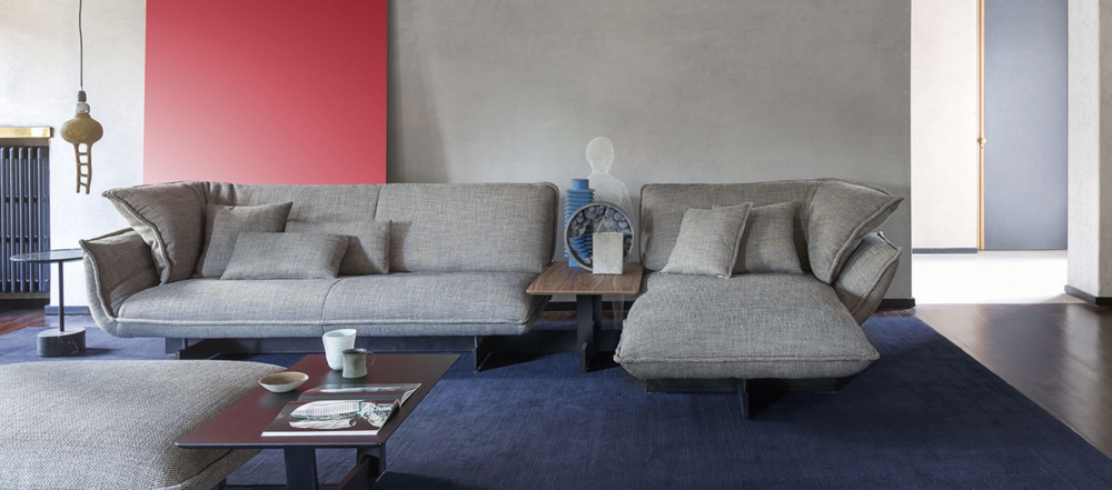 Beam zetel sofa by cassina collection loncin loncin for Interieur design antwerpen