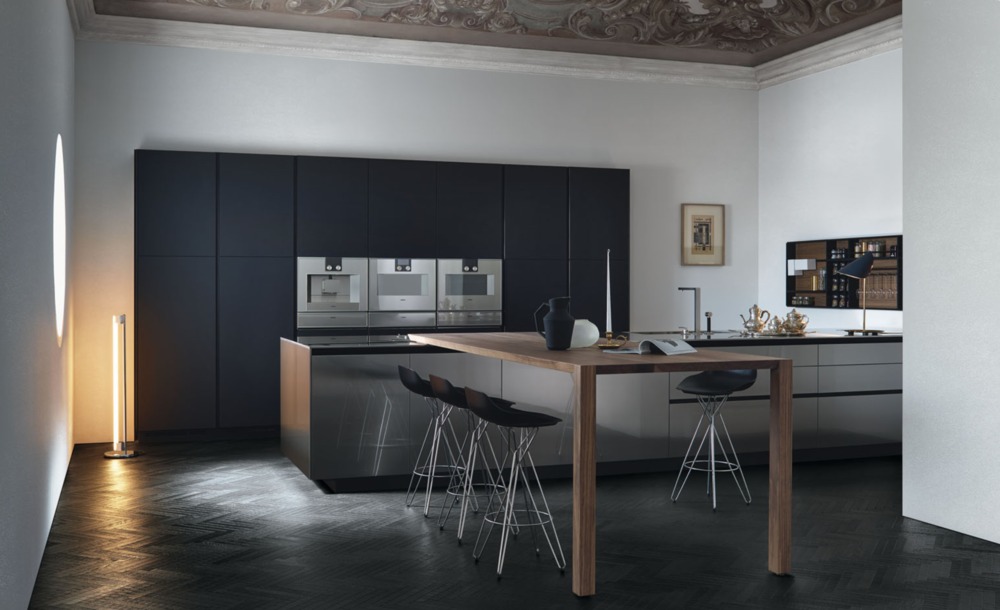 Keukens loncin interieur a beautiful home - Amenagement salon keuken m ...