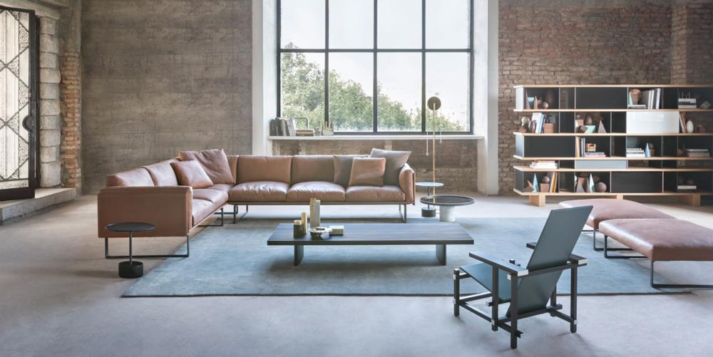 Cassina C90  otto 8 sofa zetel piero Lissoni design meubelwinkel Leuven ZOutleeuw Mechelen brussels Bruxelles Hasselt Antwerpen Gent belgie Maastricht.png