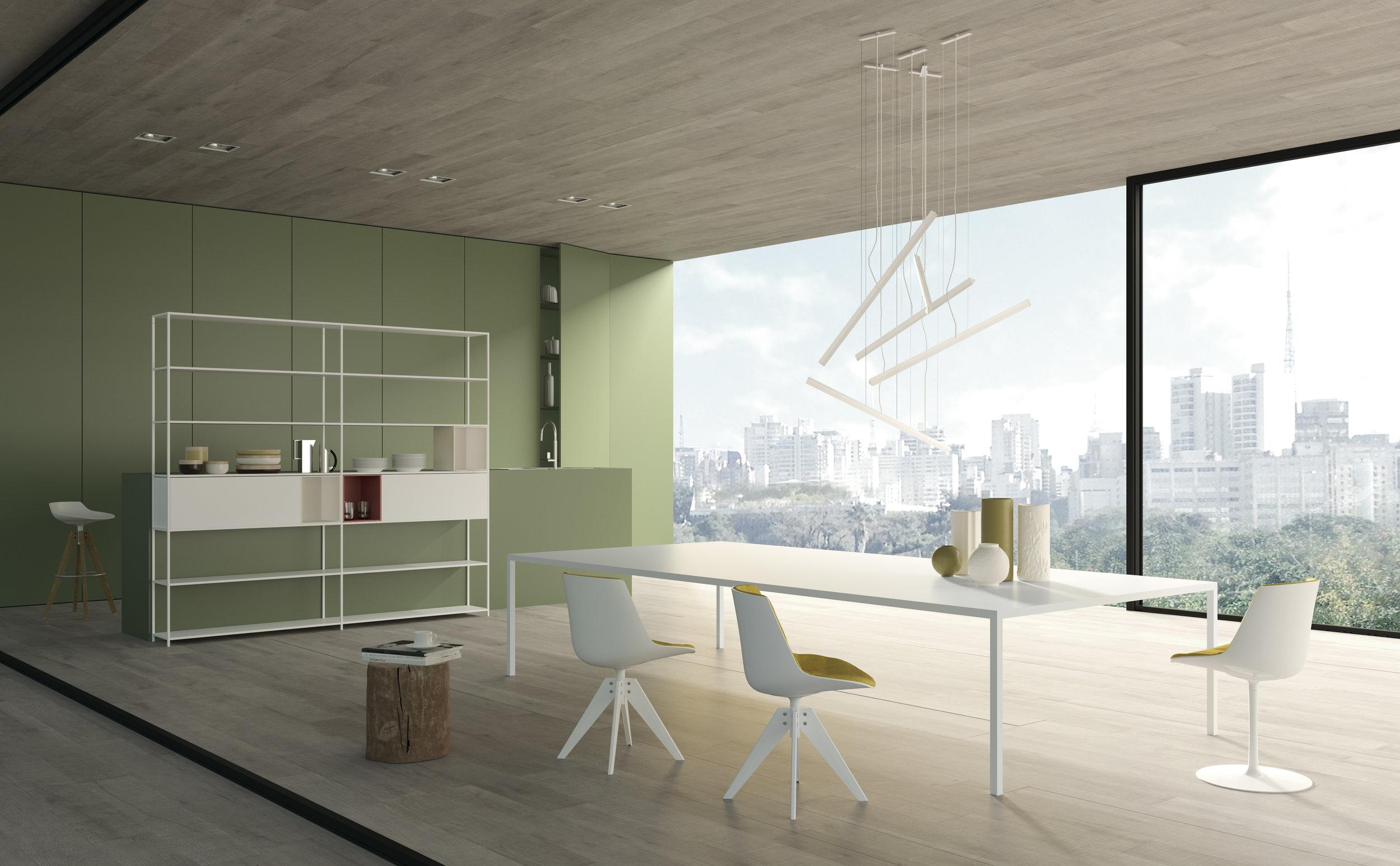 Richt je woonkamer warm en minimalistisch in