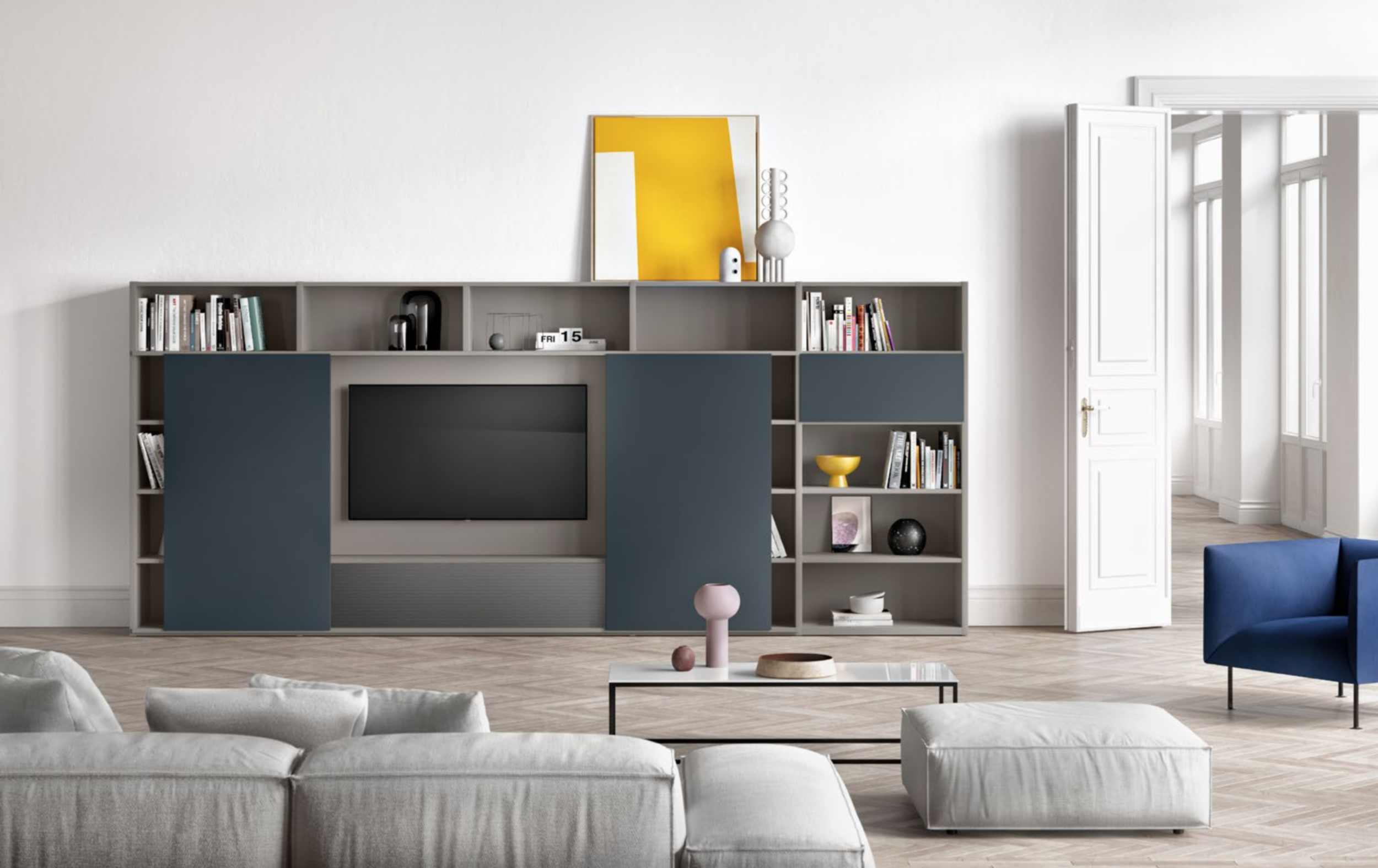 Tv Kast Interlubke.Kasten Voor Je T V Ruimte Loncin Interieur A Beautiful Home