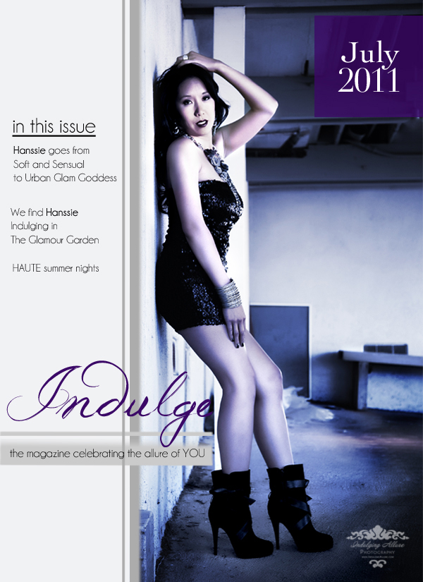 Indulge Boudoir Magazine Cover Tamara young Photographer