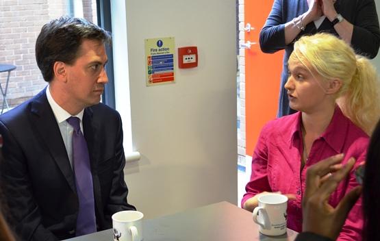 Me Not Telling Ed Miliband Off