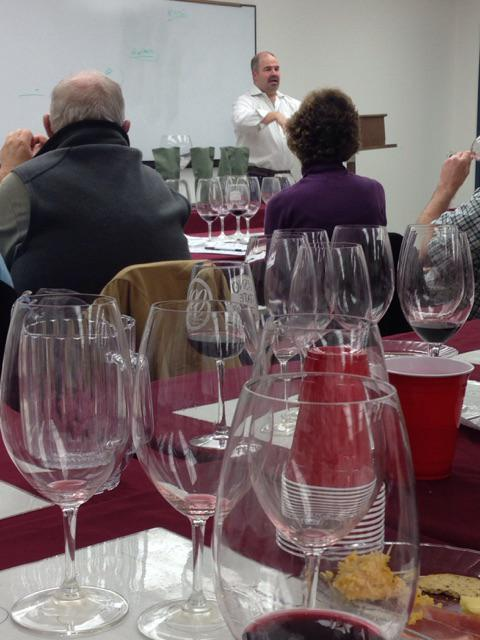 Photo Courtesy of Vince Kennedy - Winemaker David Scheidt at Fresno State Enology Presentation