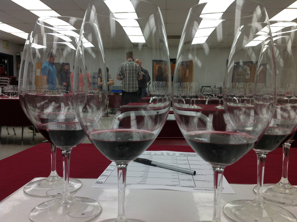 Six Cabernet Sauvignon's presented at Fresno State Enology Society