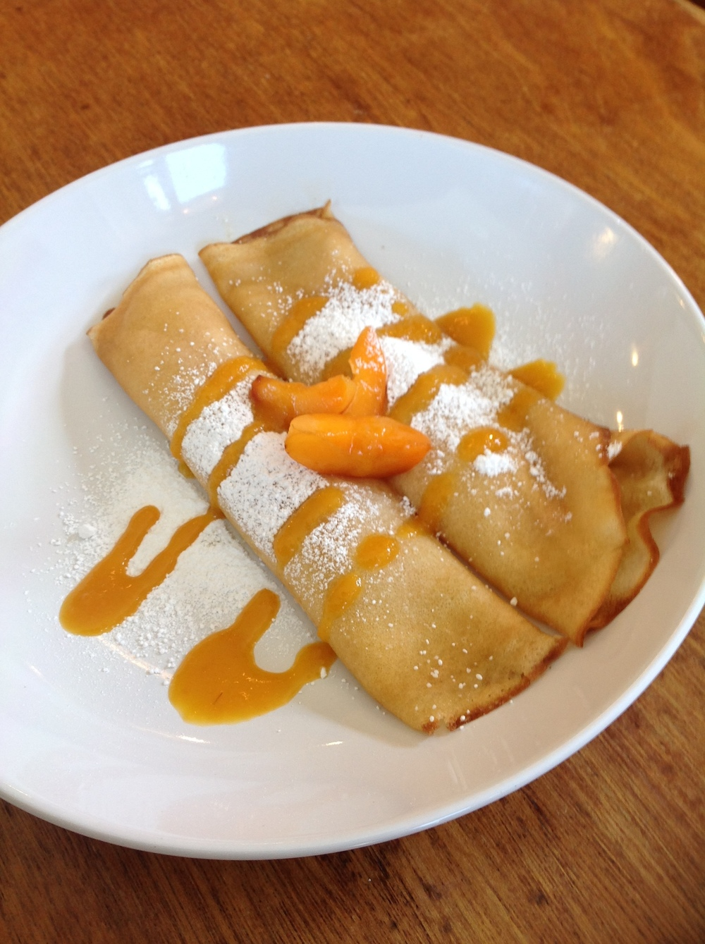 Apricot Crepes