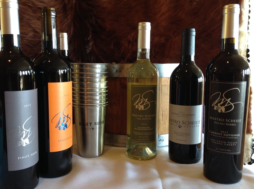 Mastro Scheidt wine dinner line-up