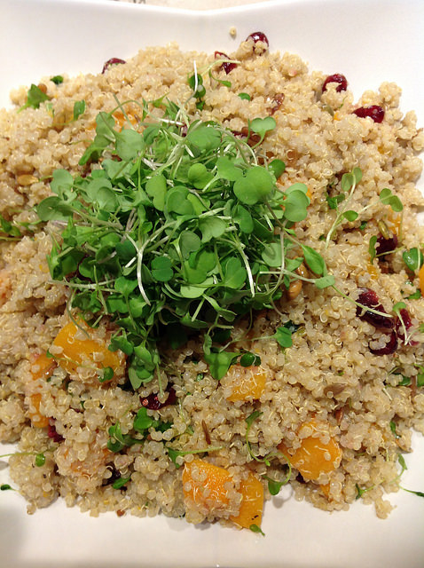 Quinoa and Butternut Squash Salad