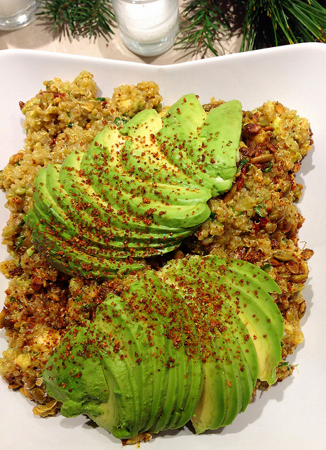 LOTS of Avocado and Quinoa Salad