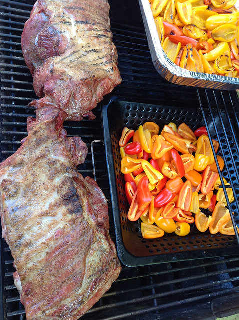 BBQ Pork and Peppers
