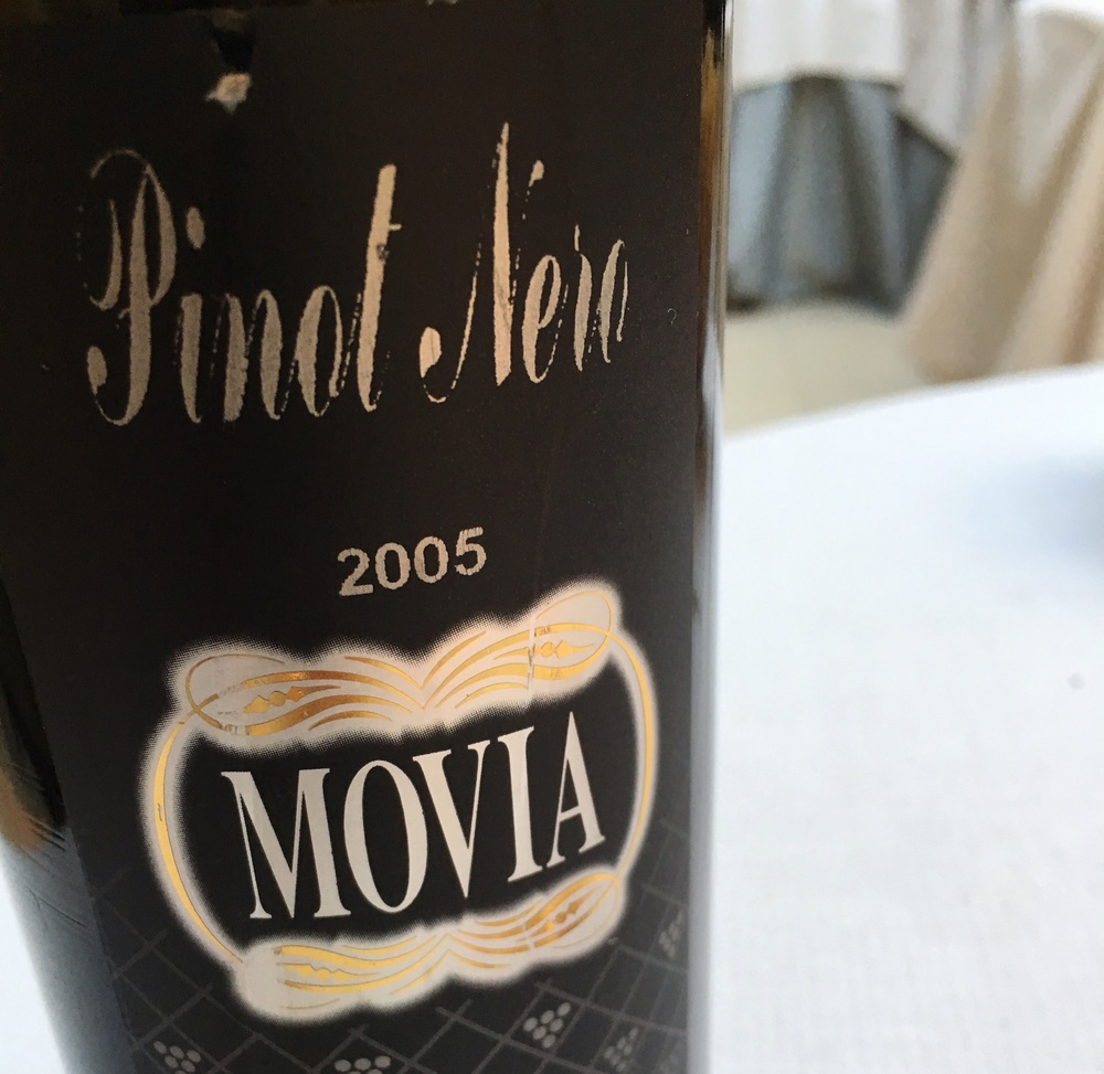 Slovenian Pinot, wine highlight of the day