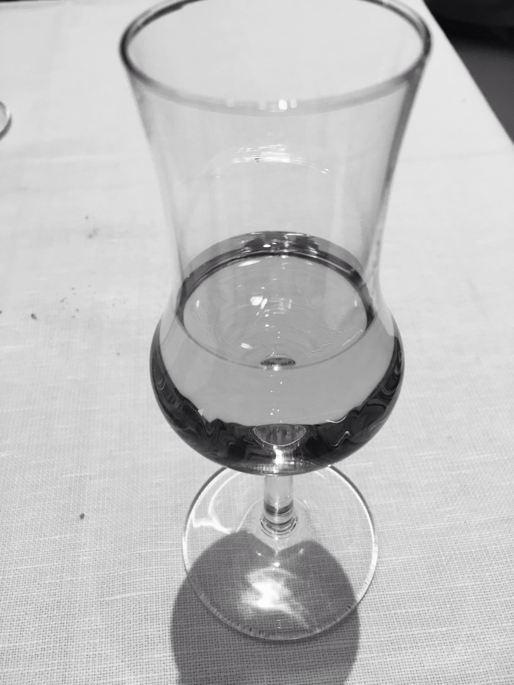 Grappa to finish