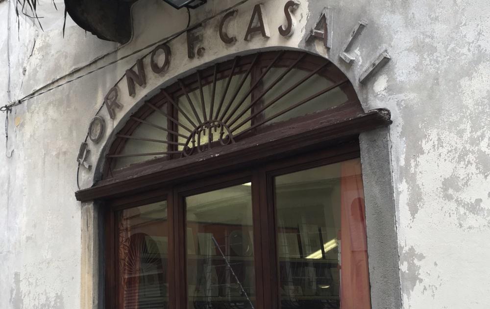 Forno Casali, my bread shop