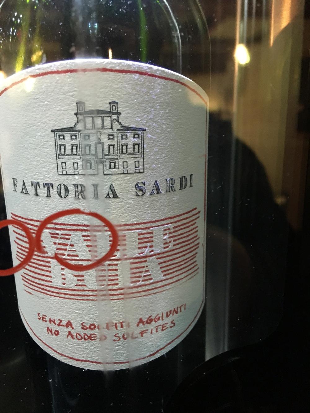 Fattoria Sardi Valle Buia