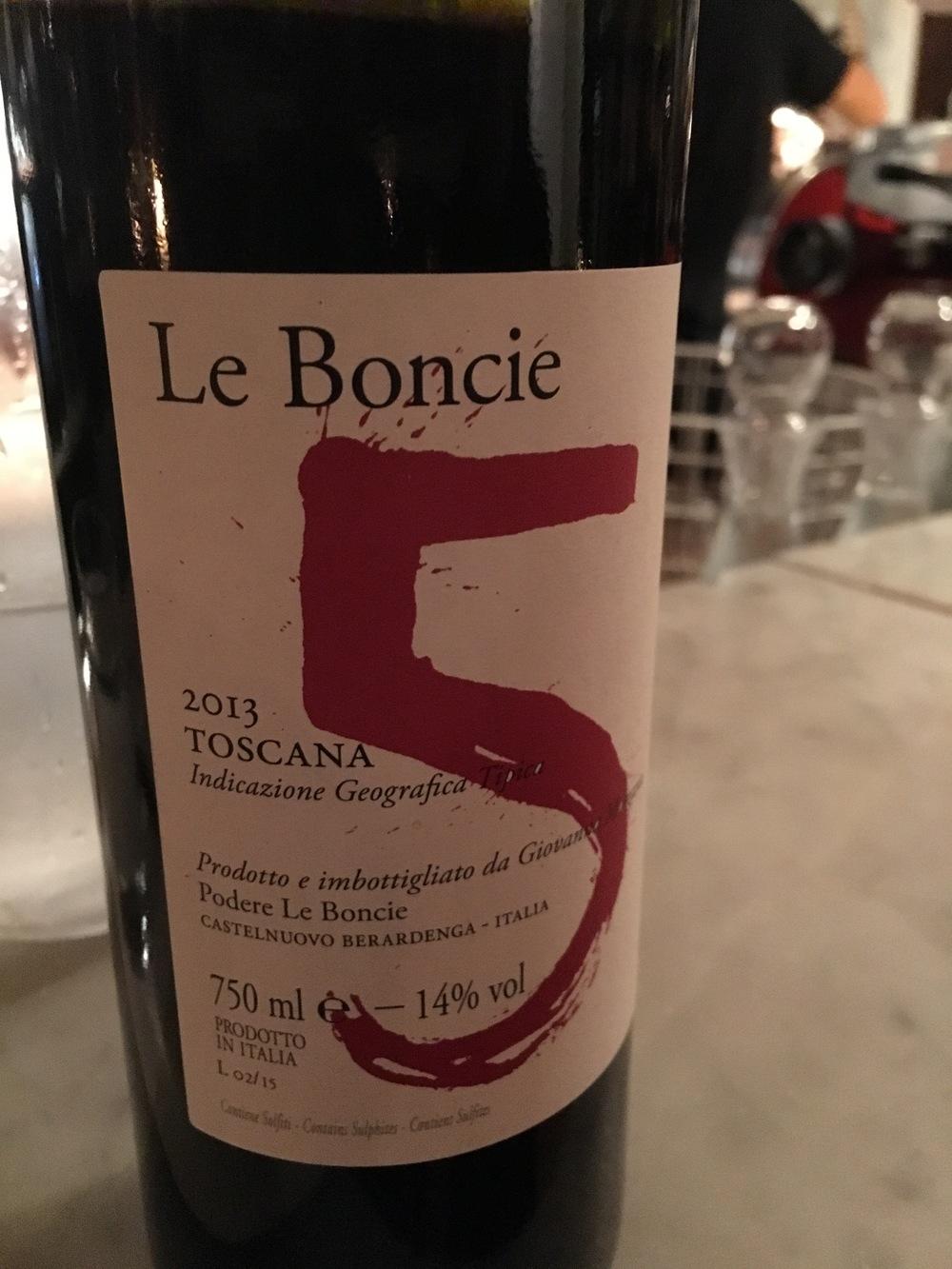 Le Boncie, 2013, Castelnuovo Berardenga