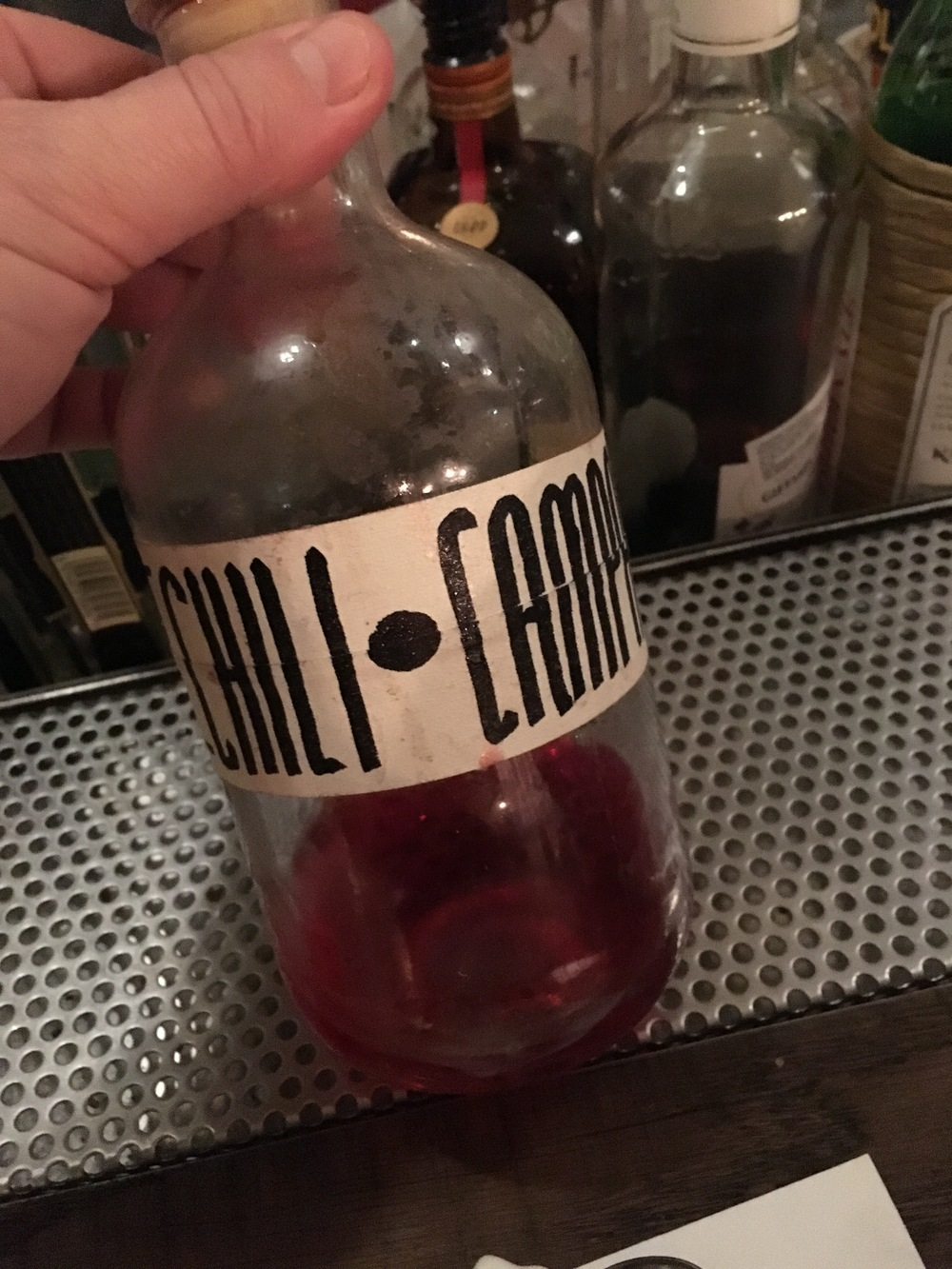 Infused Chili Campari