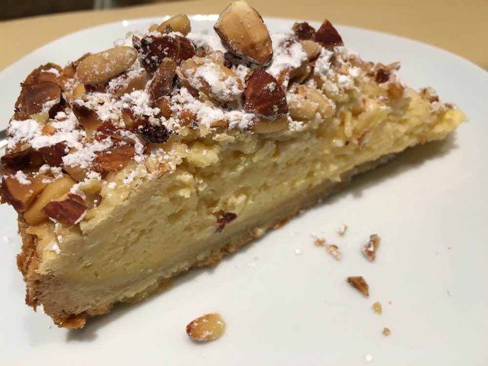 Pastry Cream and Nuts