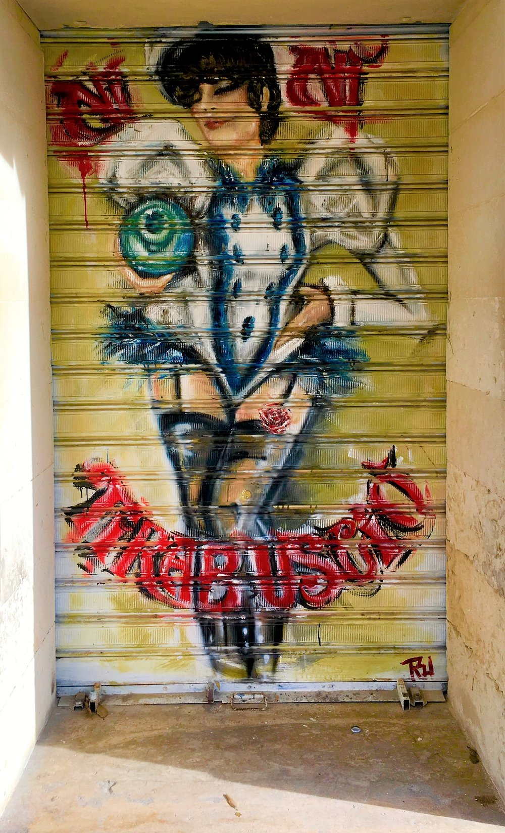 Art on the streets of Lecce, Puglia