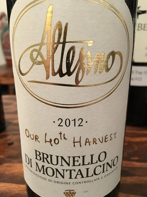 Altesino Brunello di Montalcino Our 40th Harvest