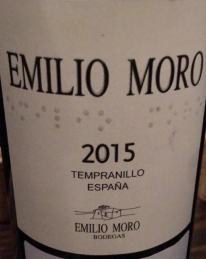 Emilio Moro Tempranillo