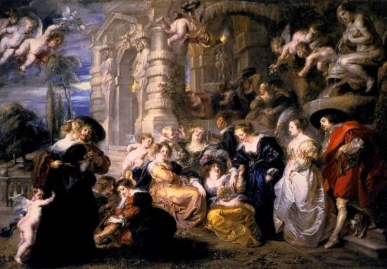 The Garden of Love, Peter Paul Rubens