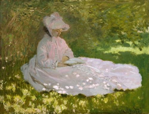 Springtime, 1872, Monet