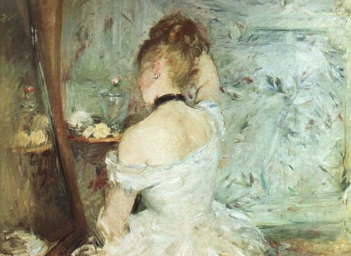 Women in her Toilette, 1873, Morisot