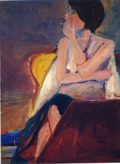 Girl Smoking - Richard Diebenkorn