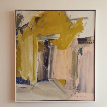 William de Kooning's  Door to the River , 1960