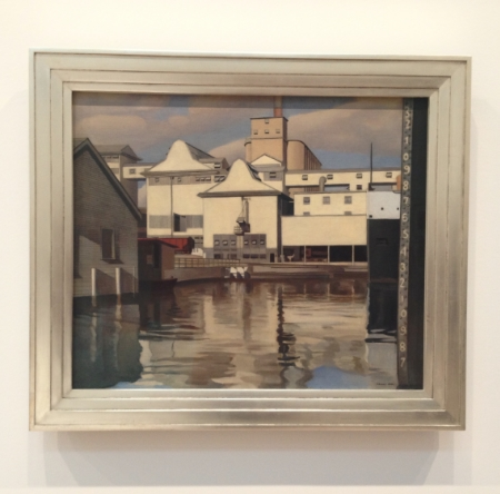 Charles Sheeler's River Rouge Plant 1932
