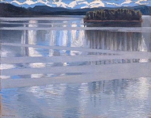 Akseli Gallen-Kallela's  Lake Keitele ,
