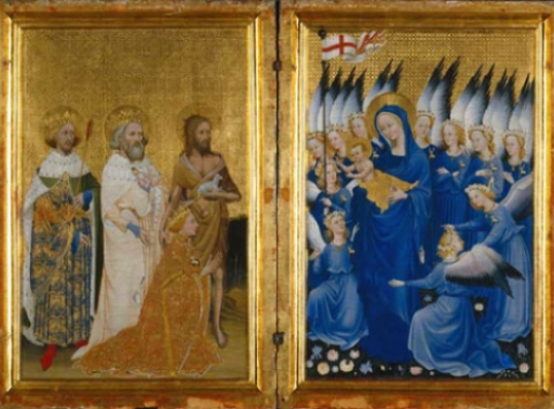 Long Phrases for the Wilton Diptych