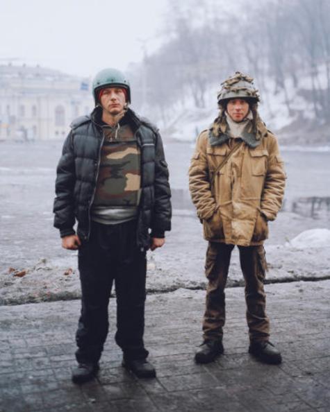 Euromaiden Protestors, Tom Jamieson, 2014.