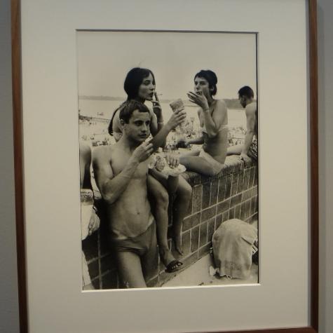 Youths at Dtrandbad, 1958