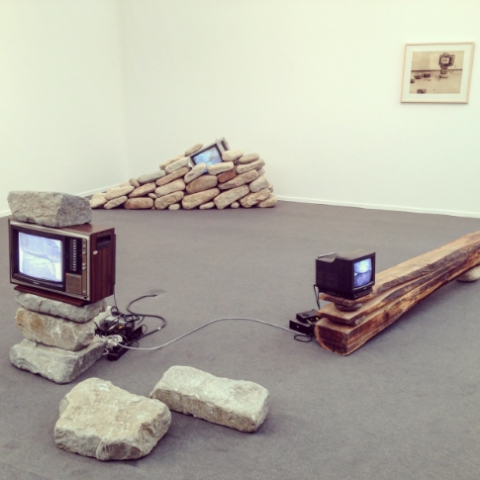 Gallery Hyundai's Untitled (TV and Stone)