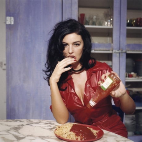 Breakfast with Monica Belluci,  November 1995